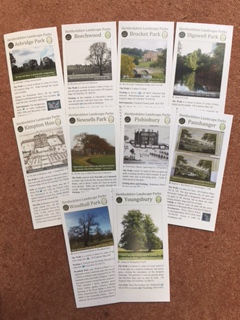 Set of ten local walks