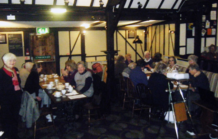 WGC Womens Club members meeting at the Barn Theatre