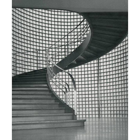 The staircase in the Roche factory in WGC