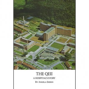 'The QEII - A Hospital's Story' front cover