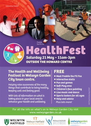 WGC HealthFest on Sat 21st May 2016