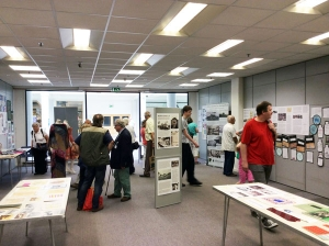 WGCHT exhibition visitors
