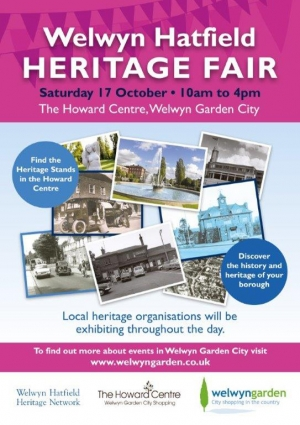 Heritage Fair flyer 17th October 2015