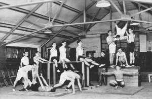 Gymnasium at the Boys' Club