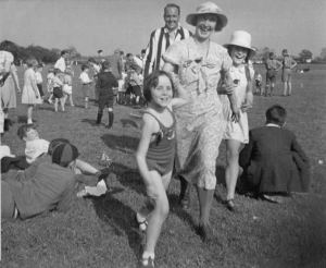 Jubilee celebrations 1935 at King George V playing field